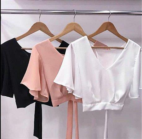 Top Cropped moda Verão 2018