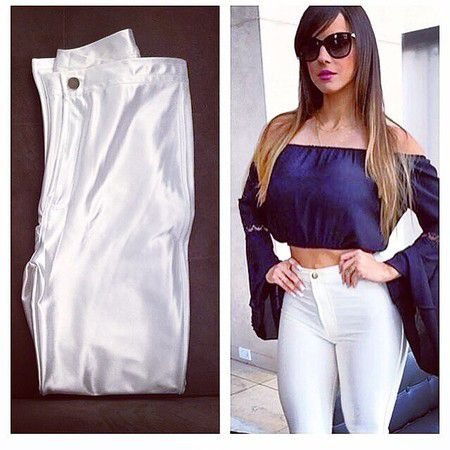 Calça Disco Pants Branca