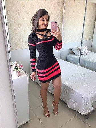 a7ca4060b Vestido em tricot Sabrina