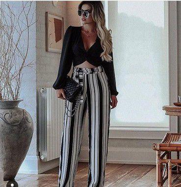 Calça Pantalona, Moda Feminina no Atacado.