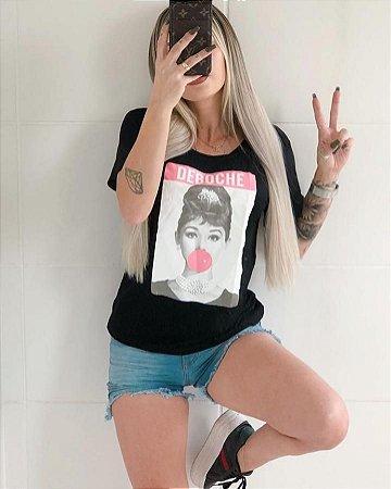 T-Shirt Feminina Deboche,  vendas no atacado e varejo