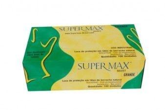 Luva Supermax Select Com Talco - Caixa com 1000 Unidades