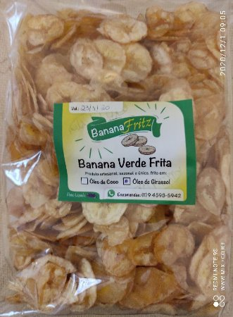 Banana Fritz Orgânica 150g