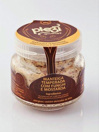 Manteiga Temperada com Funghi & Mostarda