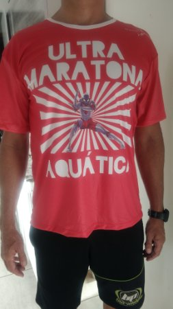 Camiseta Ulltramaratona Aquática Dry fit