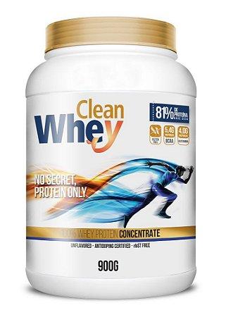 Clean Whey 900g sem sabor - Glanbia