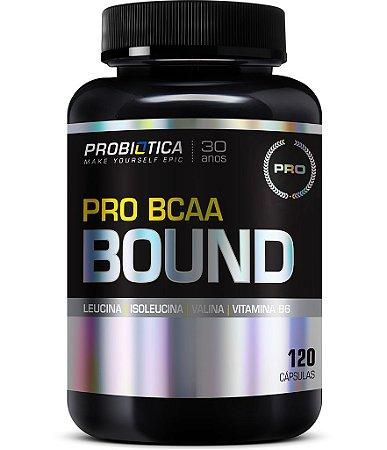 PRO BCAA BOUND (120 CAPS) - PROBIÓTICA