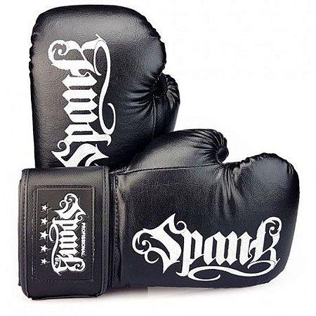 Luva de Boxe/Muay Thai Infantil Preta - Spank