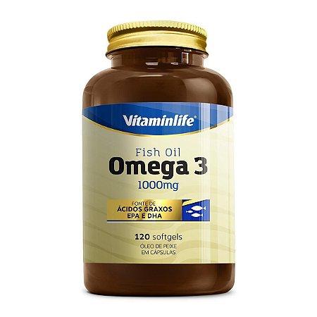 Omega 3 Fish Oil 1000mg (120 softgels) - Vitaminlife