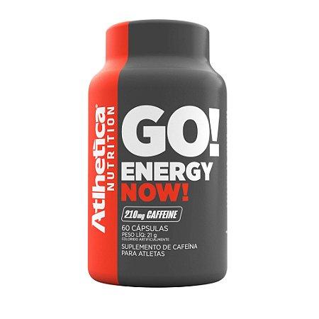 Energy Now! 60 cápsulas - Atlhetica Nutrition