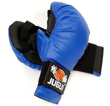 Luva Karate Infantil Azul - Jugui