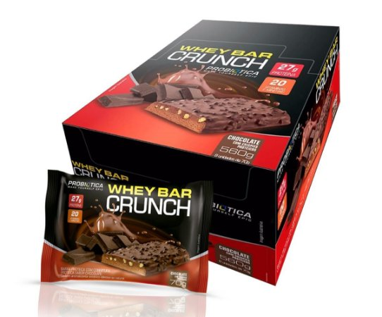 Whey Bar Crunch cx 8 und 70g cada