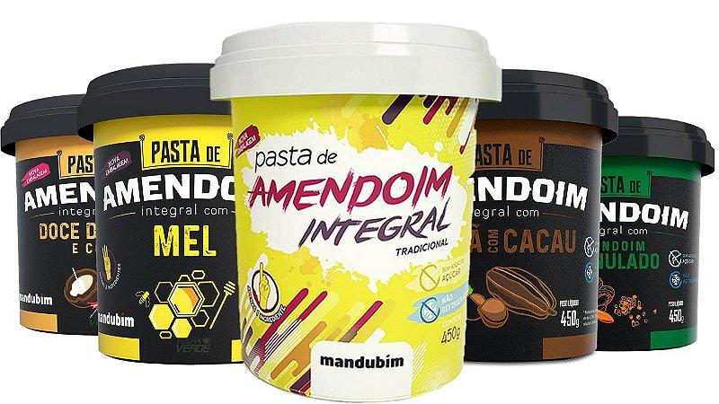 Pasta de Amendoim Integral - Mandubim