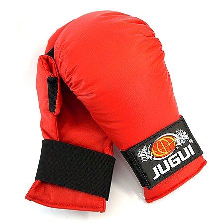 Luva Karate Vermelha adulto  - Jugui