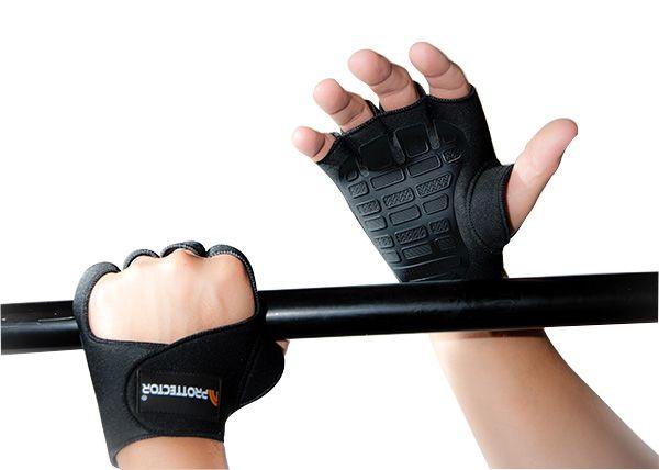 Luva de Musculação Fitness Gel - Prottector