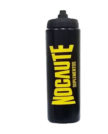 Squeeze Nocaute Preta 800 ml - Nocaute