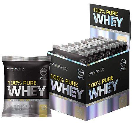 100% Pure Whey - 15 Sachê - 30g - Probiotica