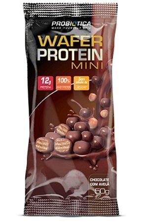 Wafer Protein Mini CX 12 UND 50g Cada - Probiotica