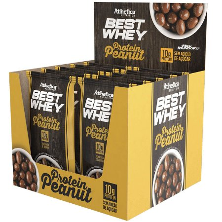 Best Whey Protein Peanut 50g - Atlhetica