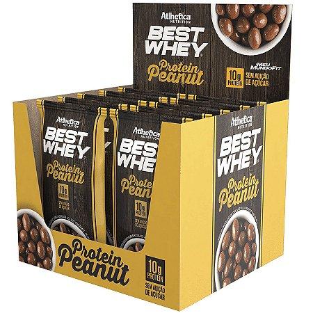 Best Whey Protein Peanut CX 12 UND 50g cada - Atlhetica