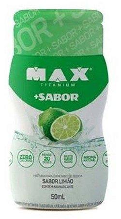 + Sabor (50ml) - Max Titanium