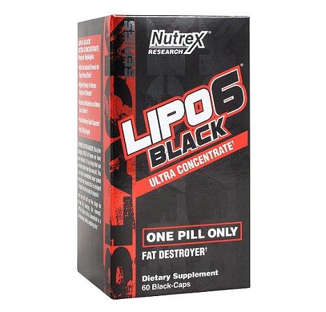 Lipo 6 Black 60 cáps - Nutrex