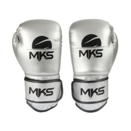 Luva de Boxe e Muay Thai Energy Metalizada - MKS