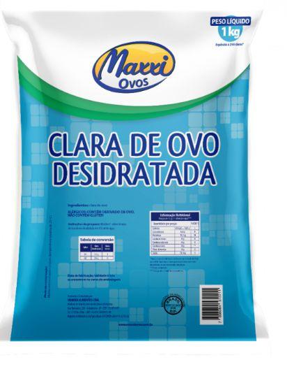 Albumina 1 KG - Maxxi Ovos