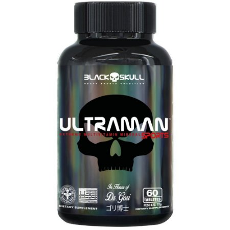 Ultraman 60 tabs - Black Skull