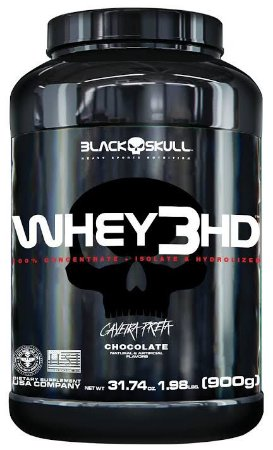 Whey 3 HD 900g - Black Skull