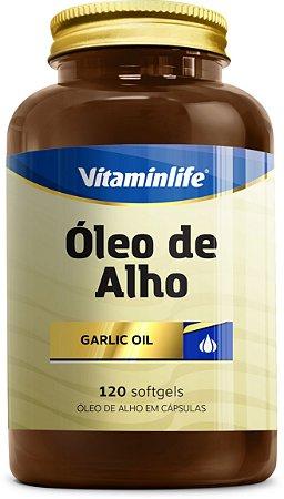 Óleo de Alho 120 softgels - vitaminlife