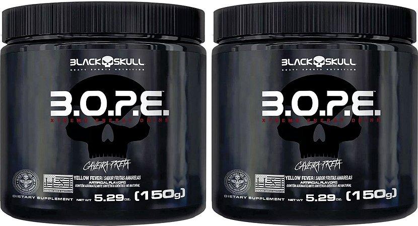 Combo com 02 unidades de B.O.P.E 150g - Black Skull