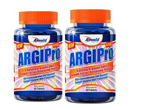 Combo com 02 unidades de Argipro 60 tables - Arnold Nutrition