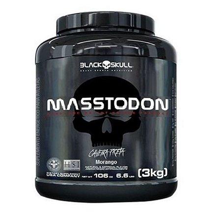 Masstodon 3 kg - Black Skull
