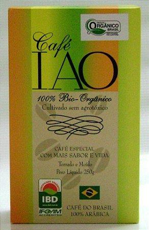Café Orgânico Torrado e Moído IAO 250g