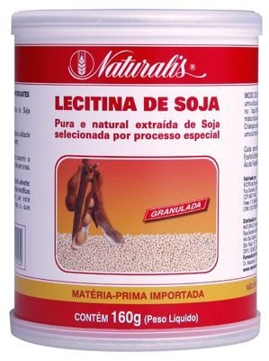 Lecitina de Soja Granulada 160g Naturalis