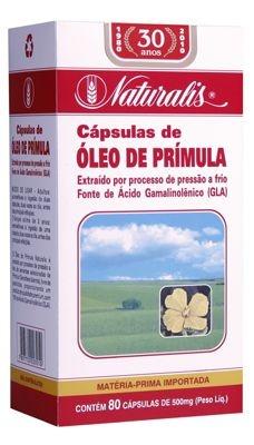 Óleo de Prímula 80cáps 500mg Naturalis