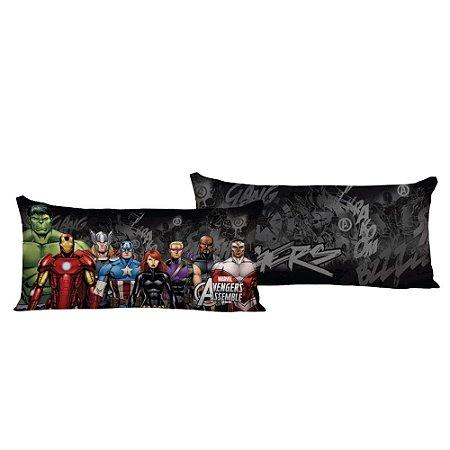 Almofada Decorativa Avengers Preta