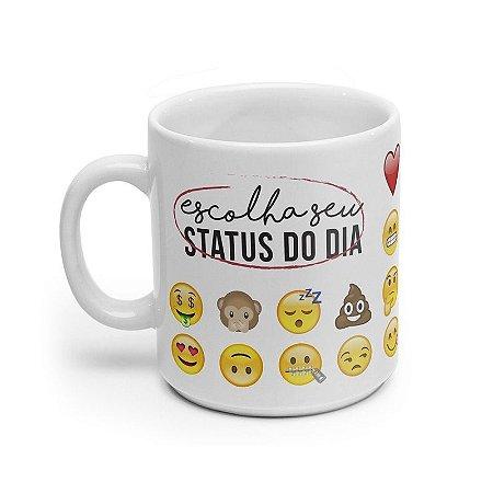 Caneca Status do Dia