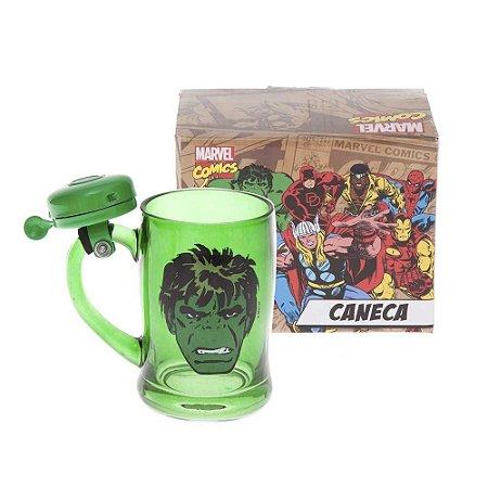 Caneca com Campainha  Hulk Marvel