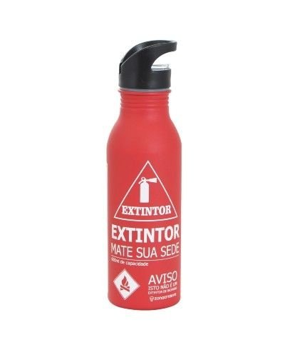 Squeeze em Alumínio Extintor de Sede
