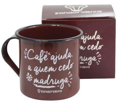 Caneca Agata Café Ajuda a Quem Cedo Madruga