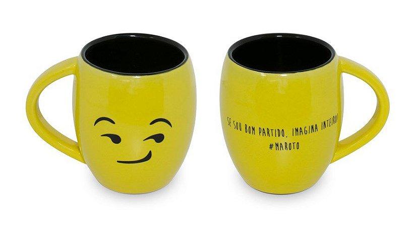 Caneca Emoji Côncava Maroto - 300ml