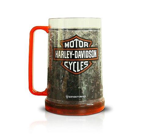 Caneco Congelável - Harley Davidson
