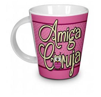 Caneca Cerâmica - Amiga Coruja