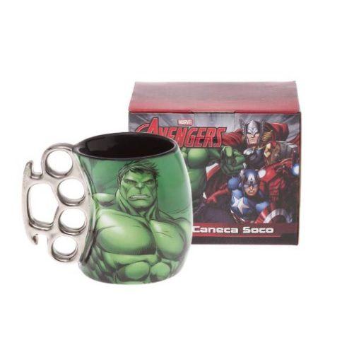 Caneca Soco Inglês Hulk