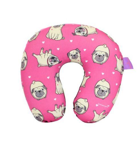 Almofada de pescoço Infantil Pugs