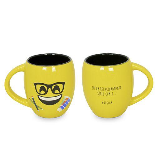 Caneca Emoji Formaturas Design 300ml