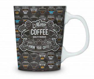 Caneca de Porcelana Coffee
