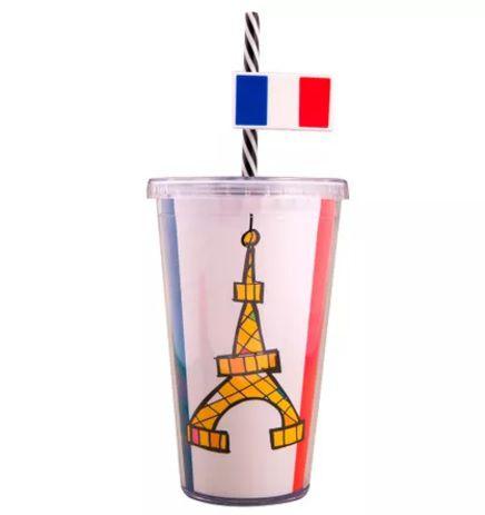 Copo com Canudo Paris